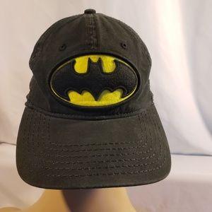 Batman baseball hat cap DC Comics adj buckle felt